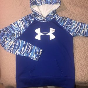 Under Armour STORM Hoodie BLUE reflective